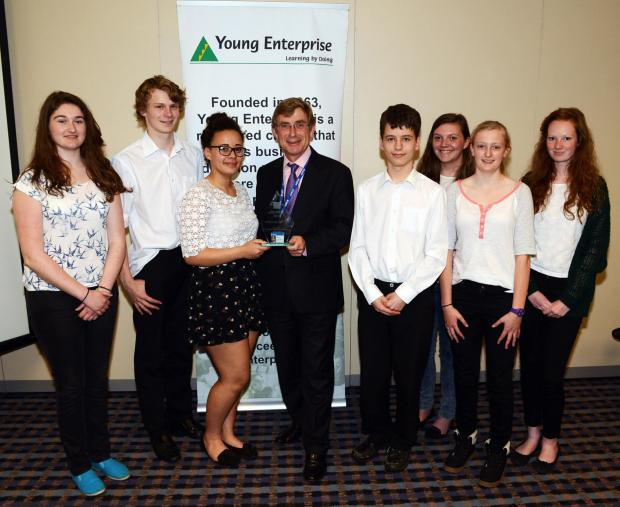 Haygrove students scoop business award