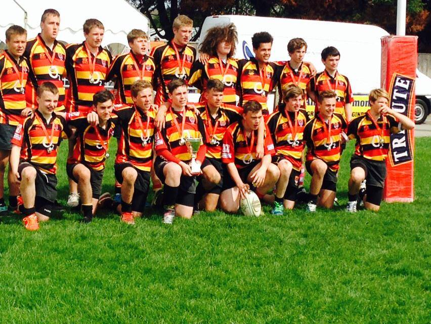 Trophy win for Albion under 15s