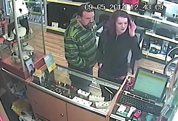 Police release image of two people connected to stolen ring