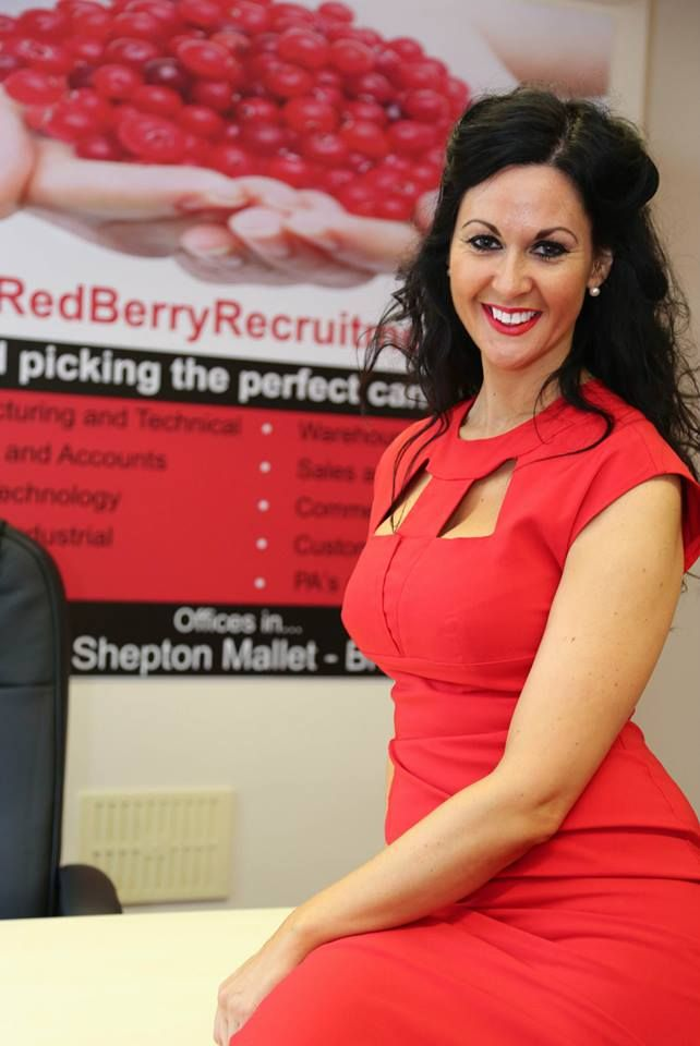 HELEN Lacey, founder of Red Berry Recruitment.