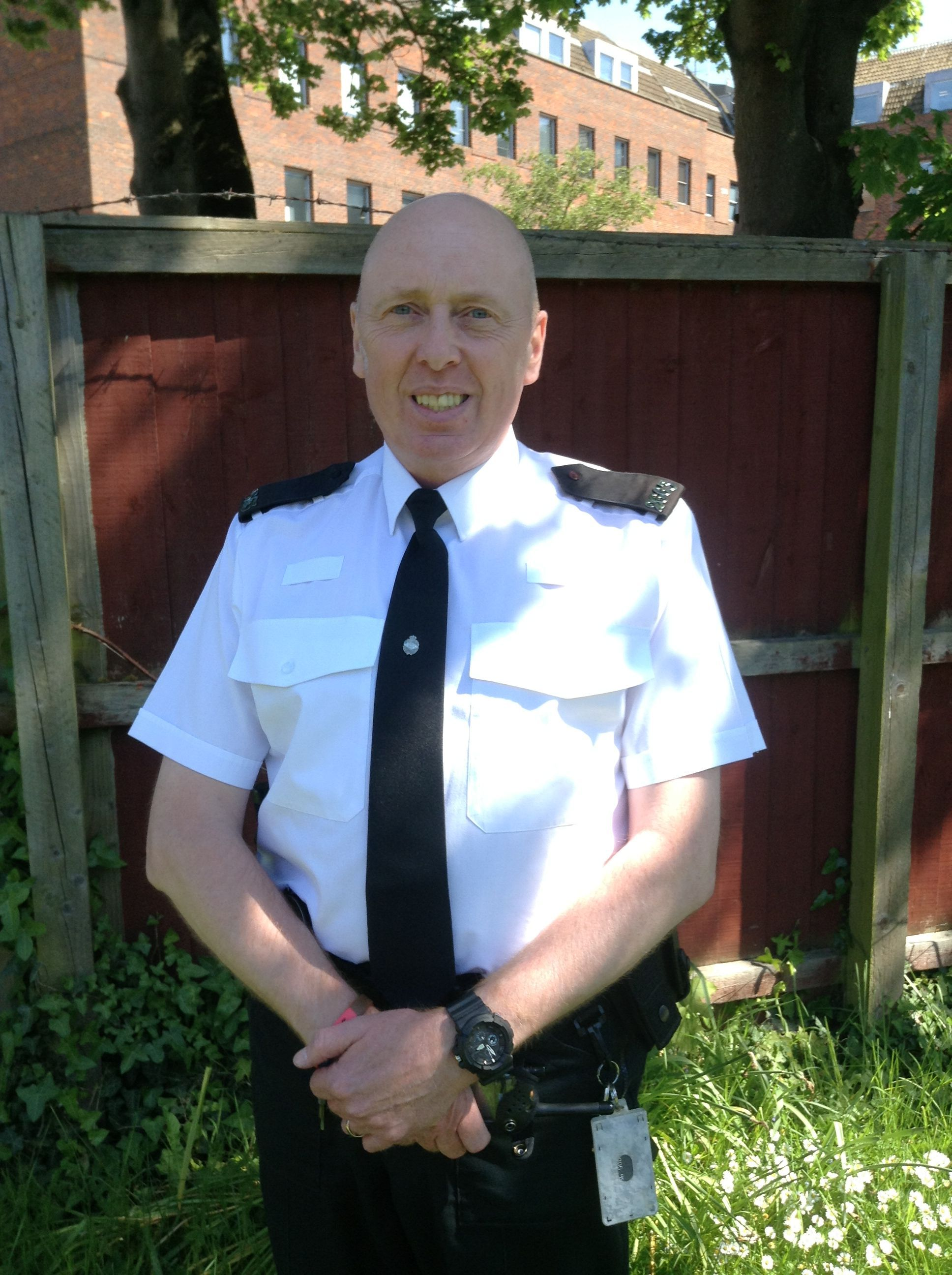 PC Rob Jacobs is prepared to tackle wildlife crime