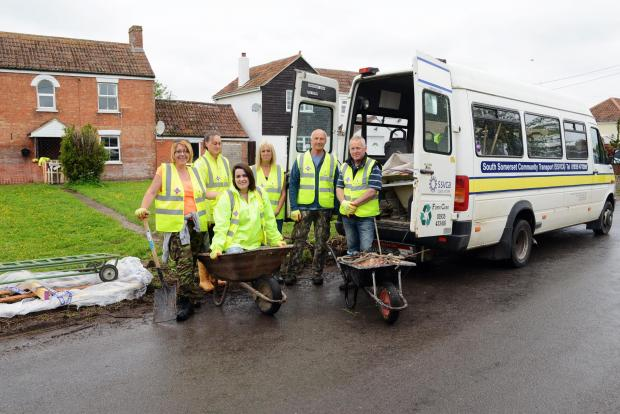 Volunteers still helping out in flood-hit Somerset
