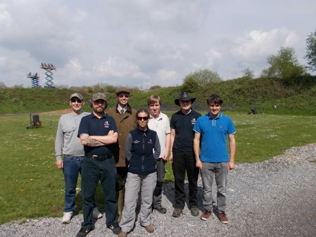 Students spend the day at Mendip Shooting Ground