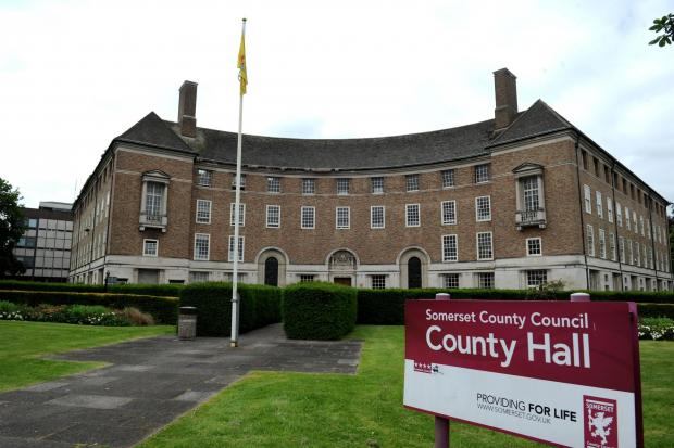 County Hall, in Taunton