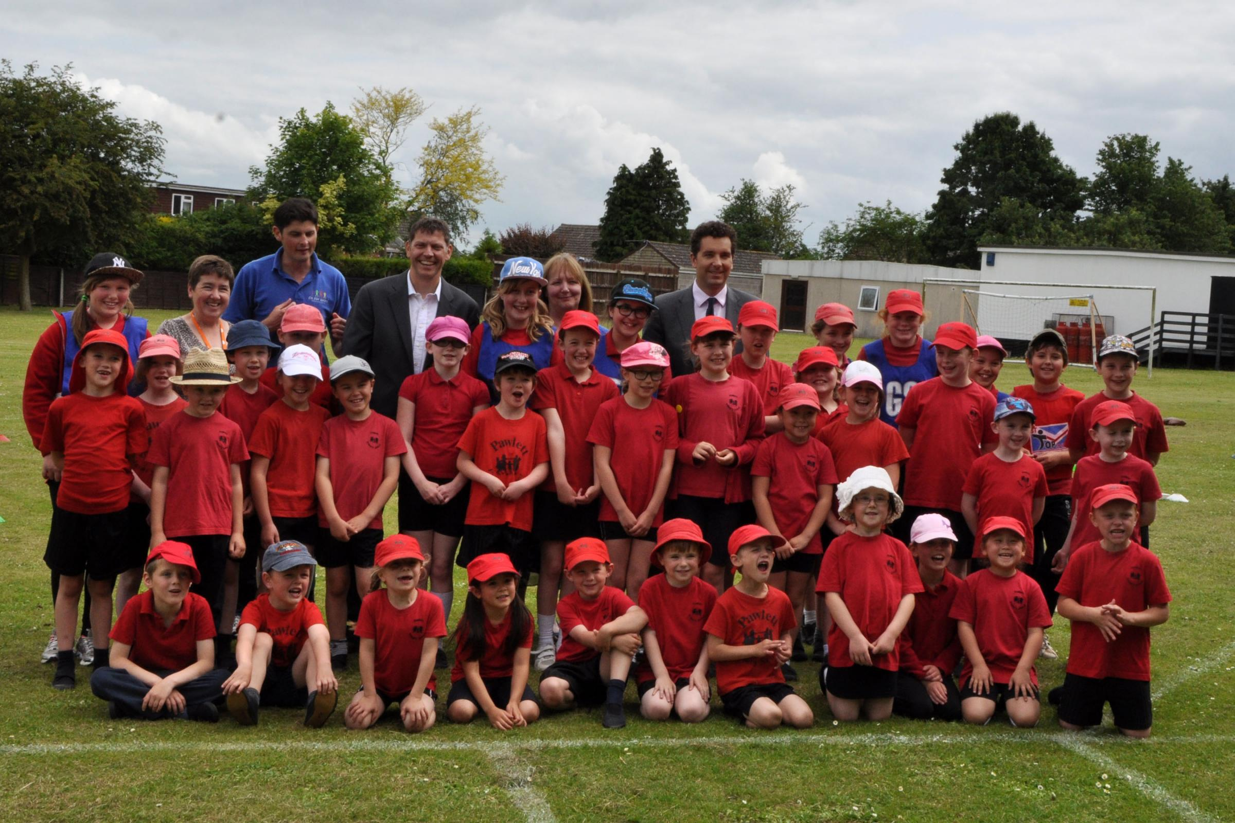 Minister visits Bridgwater school