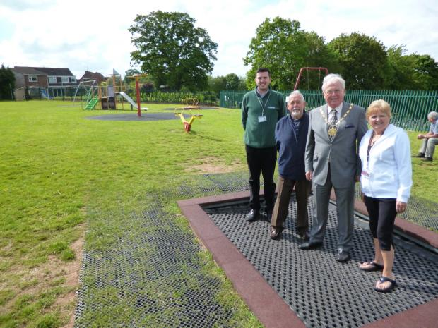 Bridgwater Mercury: Bridgwater play park spruced up by council