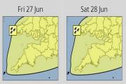 Sunshine? Storms? Showers? How is the weekend weather shaping up for Somerset