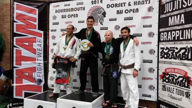 MARTIAL ARTS: Another gold for Nathan at Bournemouth Open
