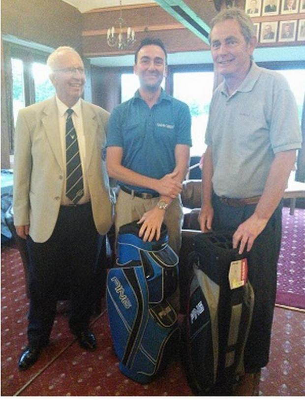 Bridgwater Mercury: GOLF: Edwards and Sly take fourball trophy at Enmore Park