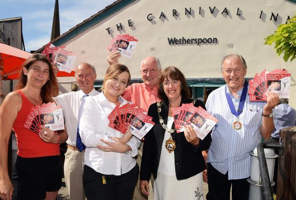 Local pub helps support Bridgwater Carnival