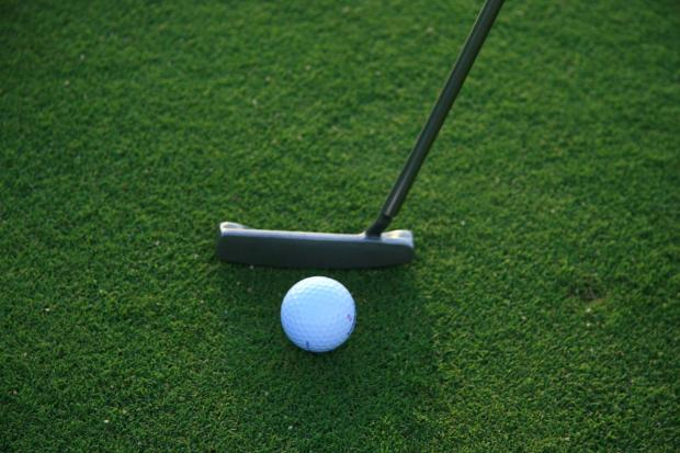 GOLF: Webster shoots the round of his life