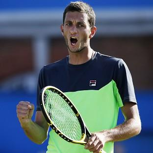 James Ward is one match away from appearing in the main draw at the US Open