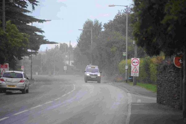 North Petherton roadworks cause 'dust cloud'