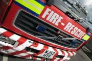 Bridgwater fire crews free cow stuck in river