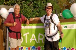 Dad's two half marathons and 100-mile walk in aid of Children's Hospice South West