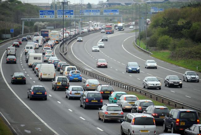 TRAFFIC: Accident causes lane closure on M5 Northbound