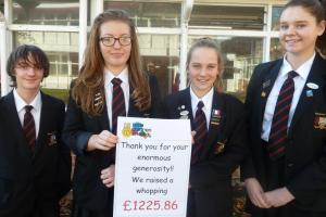 Kind-hearted pupils do their bit for Children in Need