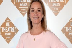 Tamzin Outhwaite admits being a working mum is not easy