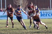 PHOTO: Ben Pomeroy - OLLIE Dunn on the charge