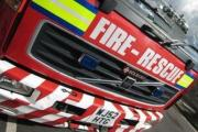 Fire crews called to vehicle fire in Spaxton