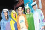 Staff at Bridgwater pharmacy raise hundreds from onesies