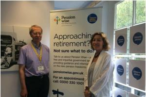 Free Pension Wise advice from Citizens Advice Taunton