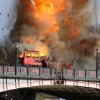 Bridgwater Mercury: Londoners aren't too happy about the bus explosion staged for a Jackie Chan film