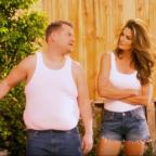 Bridgwater Mercury: Video: Cindy Crawford and James Corden have hilariously remade a famous advert