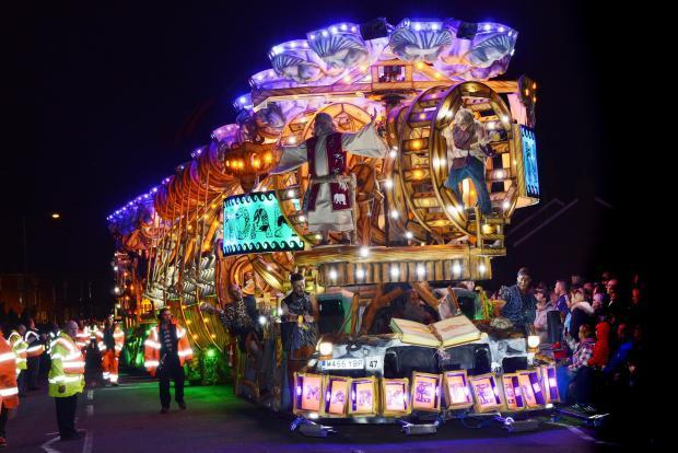 BOOST: Bridgwater Carnival brings in £4 million a year to the local economy