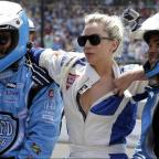 Bridgwater Mercury: Lady Gaga goes for a drive with Mario Andretti at the Indy 500