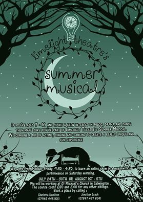 Limelight Theatre - Summer Musical