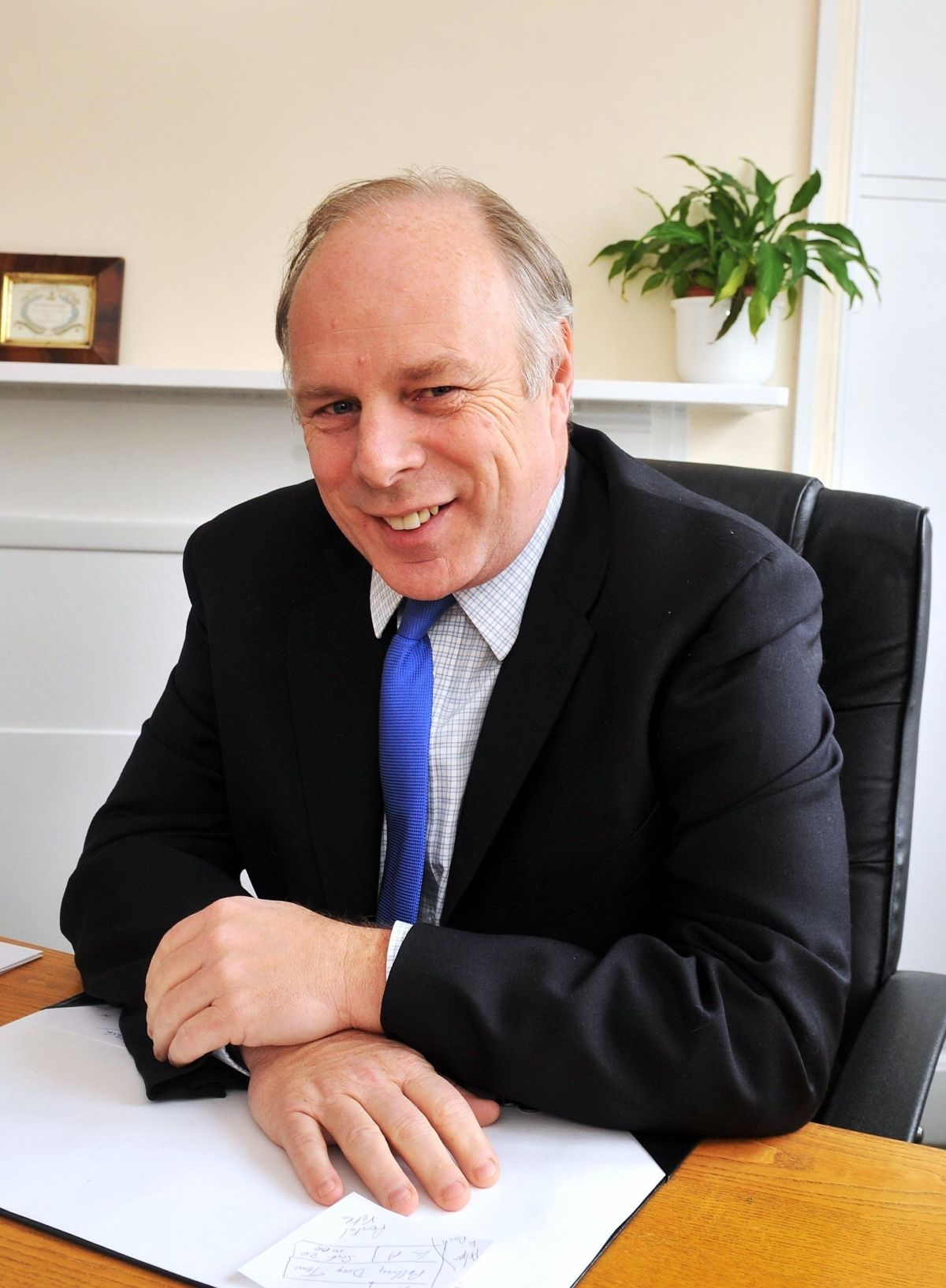 ON THE ATTACK: Bridgwater and West Somerset MP Ian Liddell-Grainger