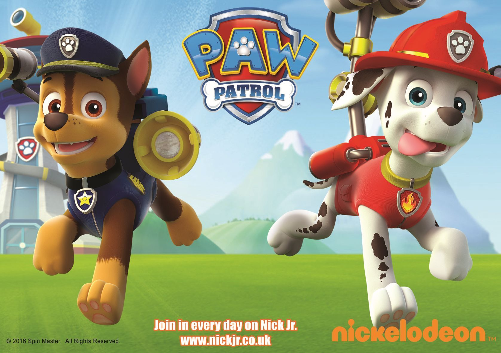 PAW PATROL: Heading to Bridgwater
