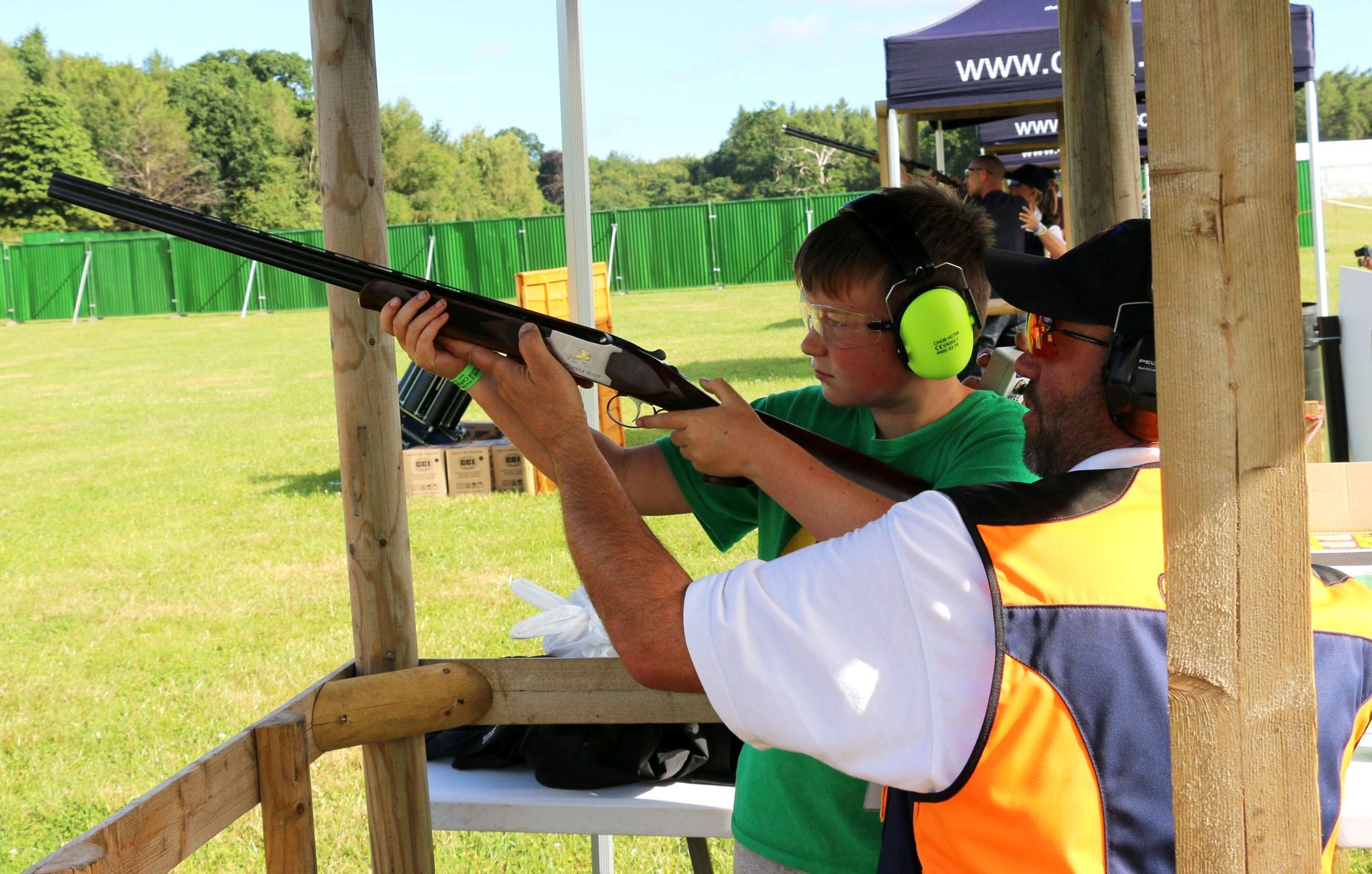 Nearly 100 CHILDREN authorised to use guns, data shows
