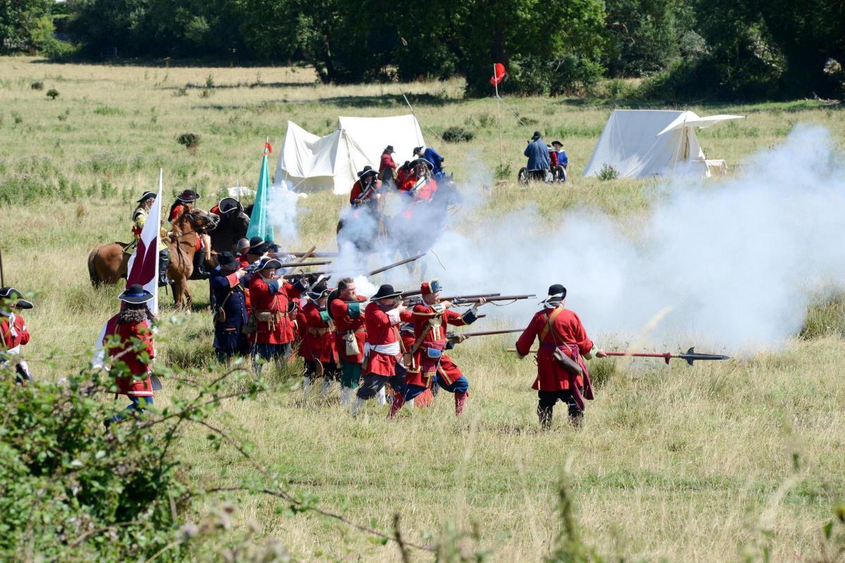 PICTURES: The Battle of Sedgemoor reenactment | Bridgwater