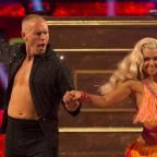 Bridgwater Mercury: He puts the boy in flamboyant! Viewers could not get over Judge Rinder's energetic first Strictly dance