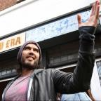 Bridgwater Mercury: Russell Brand gives his east London cafe to charity