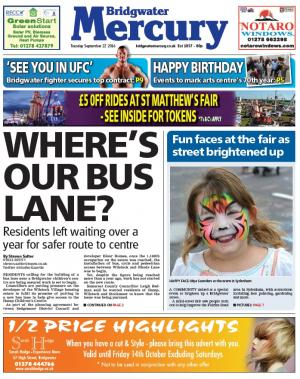 Bridgwater Mercury: 'Where's our bus lane?': Anger over delay creating safer route to children's centre
