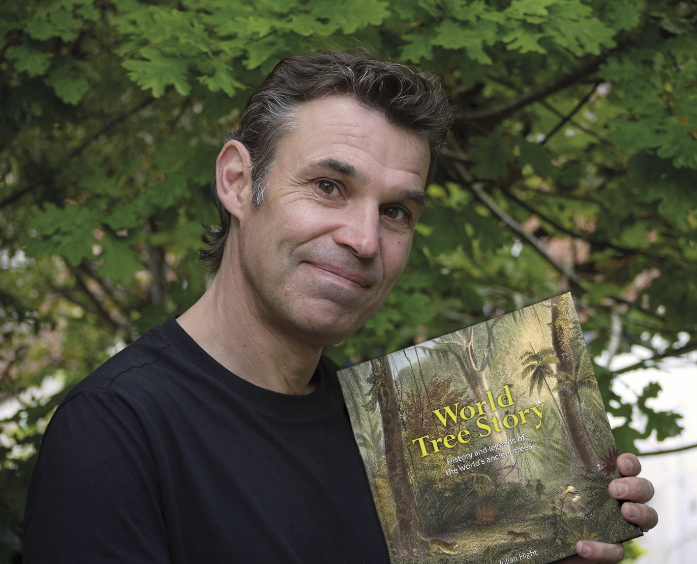 World Tree Story - history & legends of the world's ancient trees - illustrated talk by Julian hight