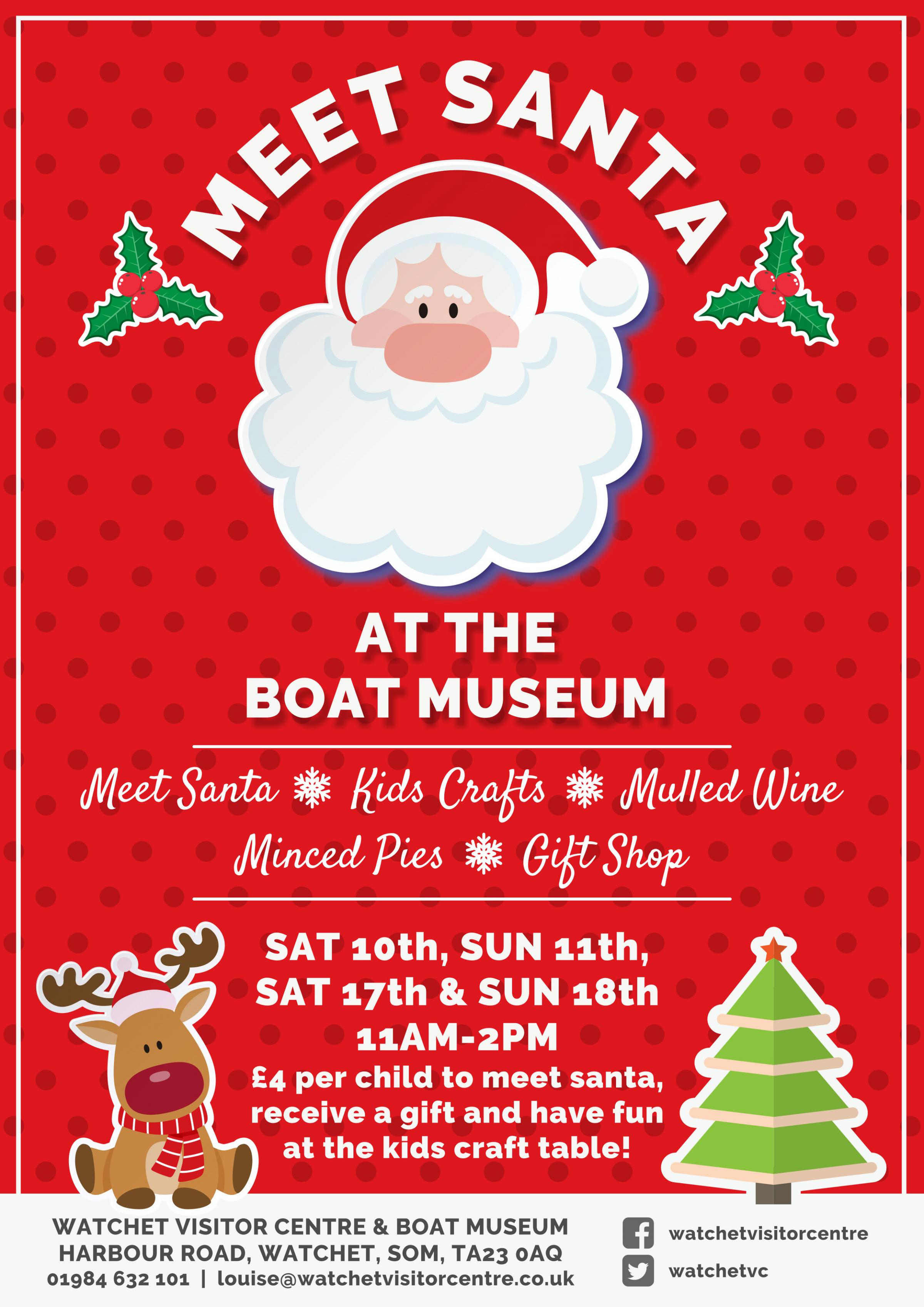 Meet Santa in the Boat Museum