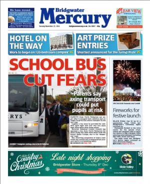 Bridgwater Mercury: SCHOOL BUS FEARS: Parents say axing transport could put pupils at risk