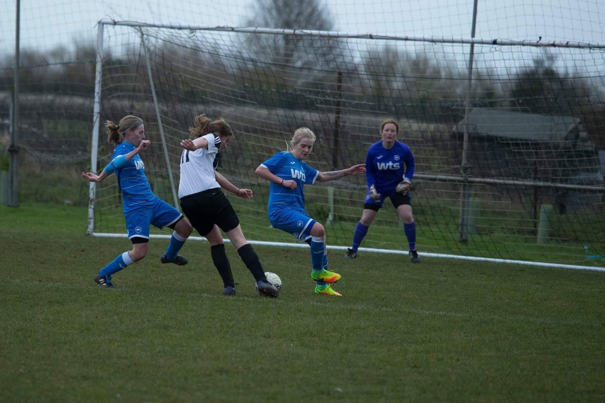 FINALISTS: Middlezoy Rovers Ladies progressed to the Somerset County Women's Junior Cup final.