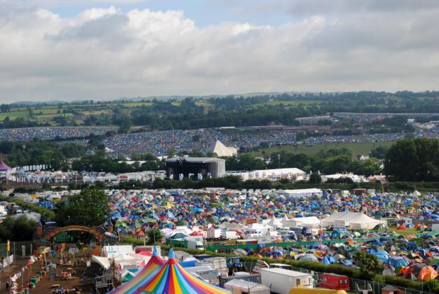 Bridgwater Mercury: MOVING?:The Glastonbury Festival could leave Somerset temporarily