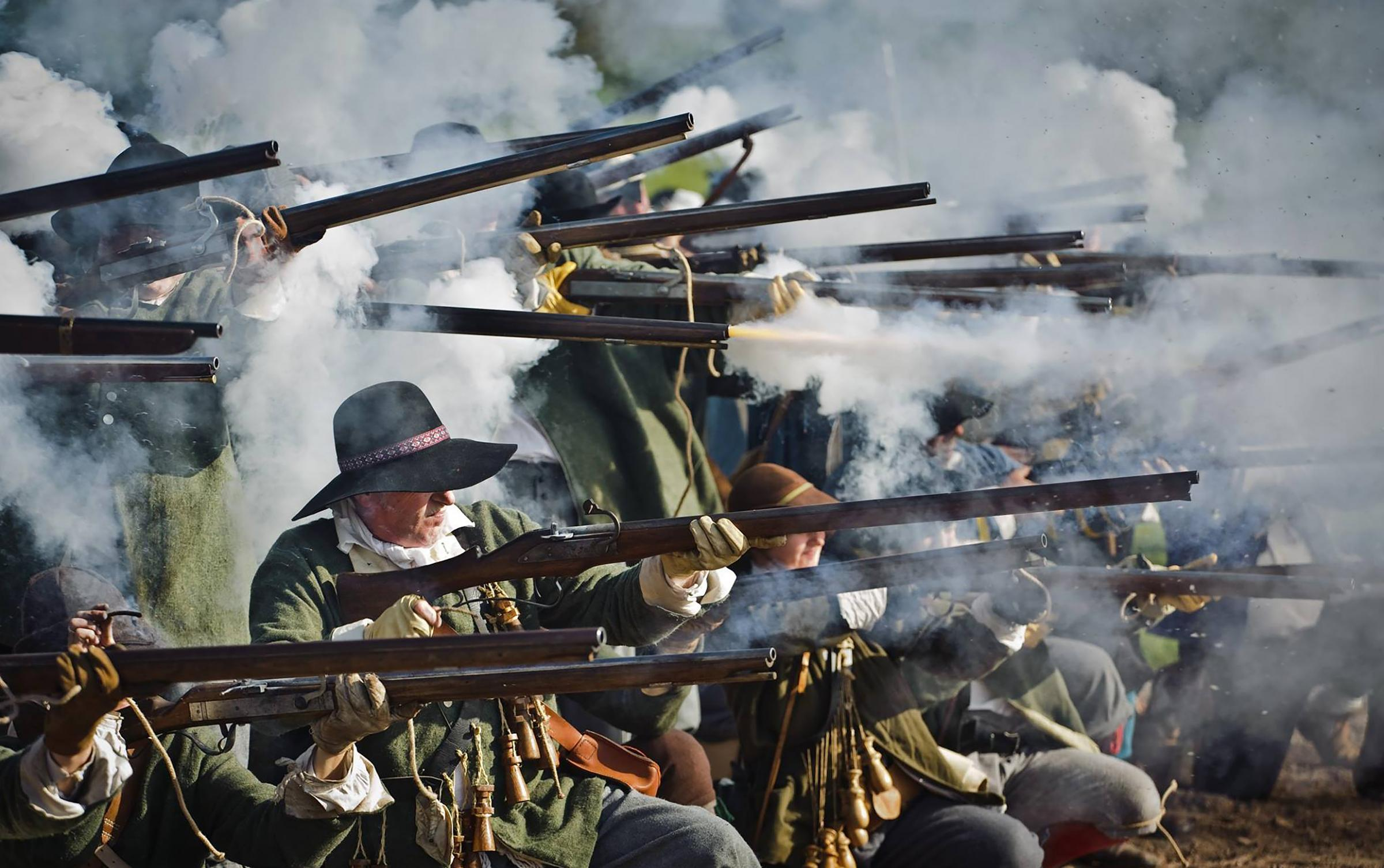 Sealed Knot 'Fire Power Weekend' – Civil War Battle and Living History Camp