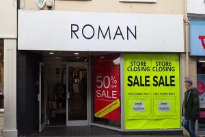 CLOSING DOWN: Roman Originals on Fore Street