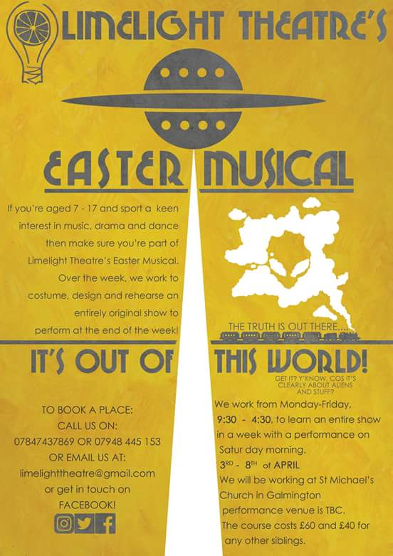 Limelight Theatre - Easter Musical