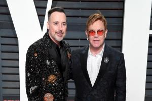 David Furnish calls husband Sir Elton the 'greatest gift' on singer's 70th