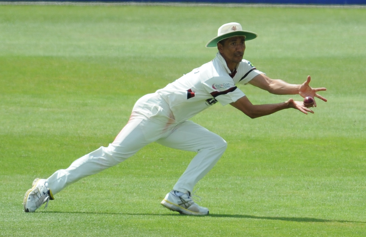 NEW ARRIVAL: Former Somerset seamer Alfonso Thomas will be part of the Bridgwater attack for the 2017 season