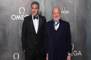 George Clooney has said he was too much of a coward to go to space like his hero Buzz Aldrin