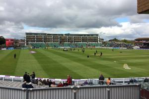 TURNAROUND: The Cooper Associates County Ground witnessed an amazing comeback from Somerset against Surrey.